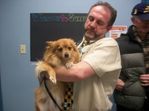 Sadie & Dr. Jeff
