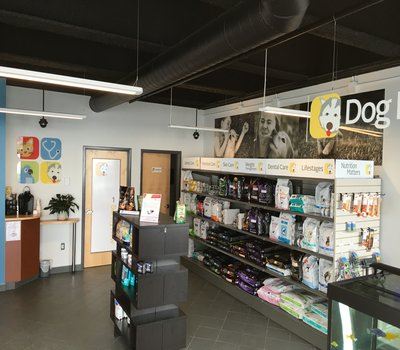 Therapeutic Pet Food Display of Supplements &, Treats for your Family Friend!