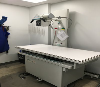 Sunnyview's Digital Radiology computer sends the image back to our exam rooms to allow us to share the information with you there - and email them to specialists around the world, or to you for your own records!